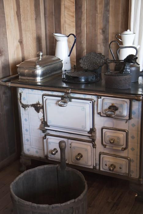 aufkleber vintage k che pixers wir leben um zu ver ndern. Black Bedroom Furniture Sets. Home Design Ideas