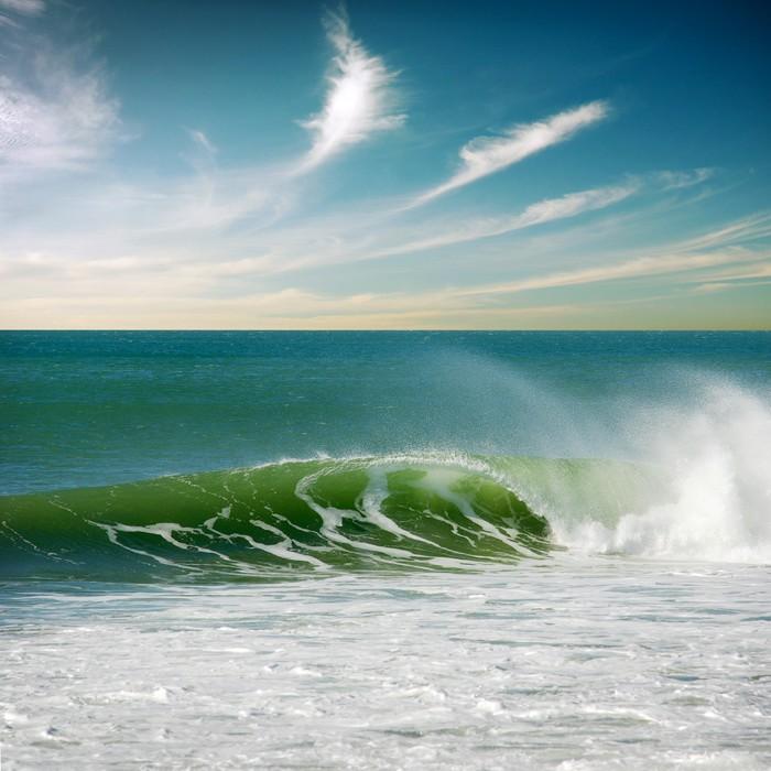 Vinylová Tapeta Perfektní vlna - Voda