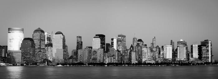 Vinylová Tapeta Manhattan Financial District města Jersey - Těžký průmysl