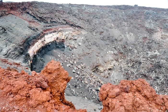 Vinylová Tapeta Mt Ngauruhoe - Oceánie