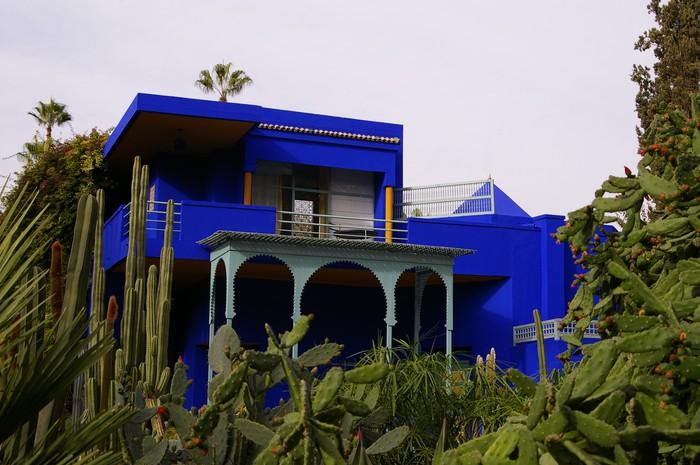 Vinylová Tapeta Vila Majorelle au Maroc - Soukromé budovy