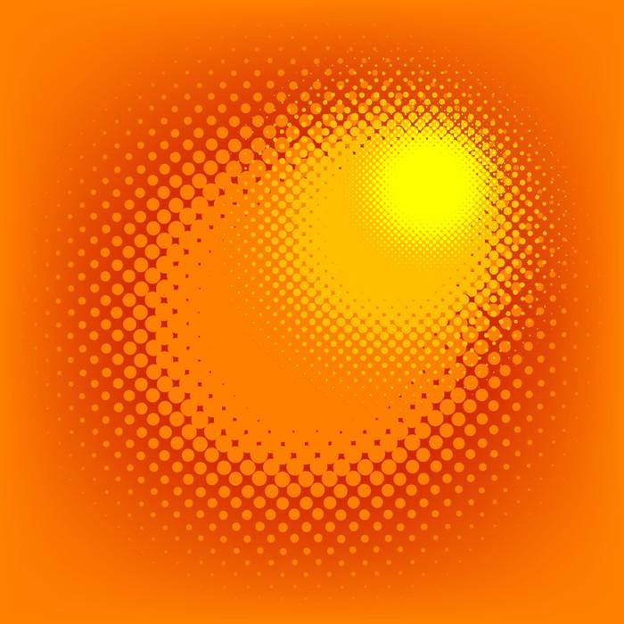Vinylová Tapeta Polotónů efekt, vektor - Témata