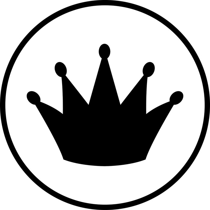 Crown Symbol Wall Mural Pixers We Live To Change
