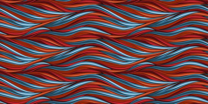 Vinylová Tapeta Bezešvé vlny - Pozadí