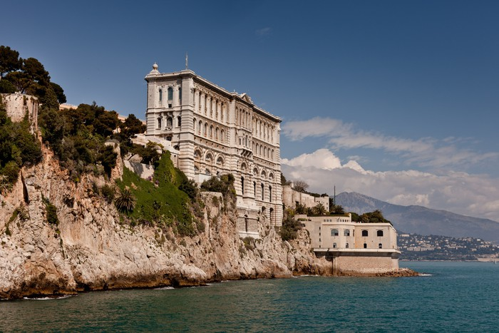Vinylová Tapeta Nebo oceanographique Musee Aquarium de Monaco (Monte Carlo) - Jiné