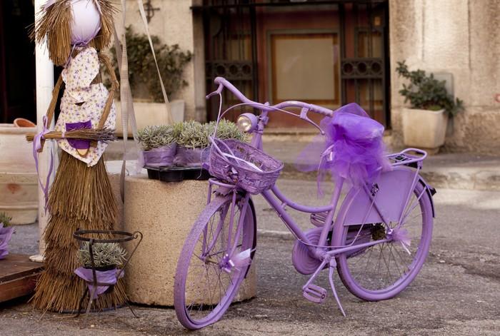 Vinylová Tapeta Purple kol - Na cestě