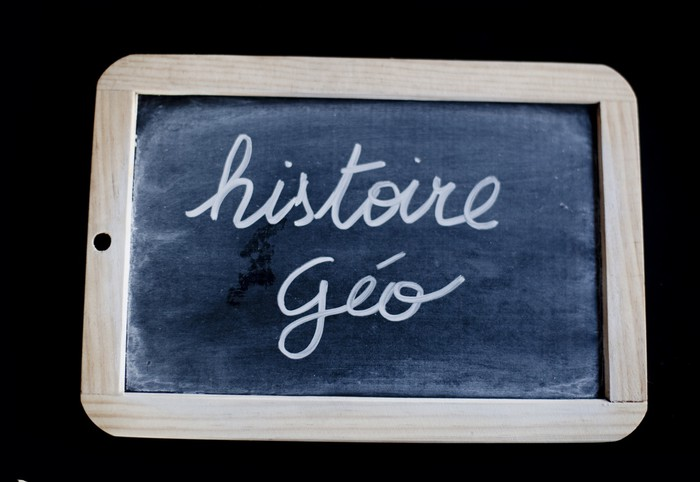 Vinylová Tapeta Histoire geo - Vzdělávání