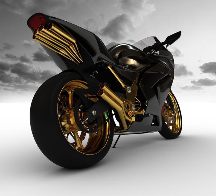 Vinylová Tapeta Render koncepce motocyklu - Osud