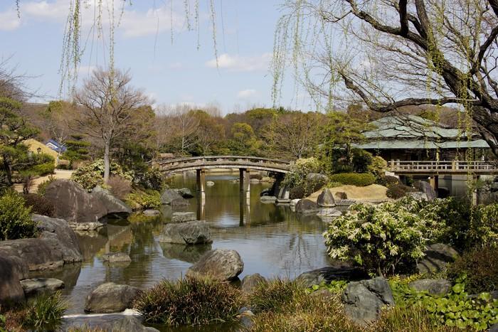 Poster jardin japonais pixers nous vivons pour changer for Acheter jardin japonais