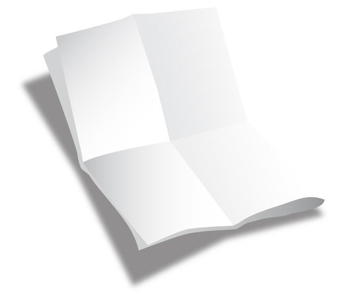 Carta da parati foglio di carta piegato pixers for Carta da parati vinile