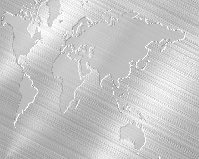 Vinylová Tapeta 世界 地 図 を 刻 む - Struktury