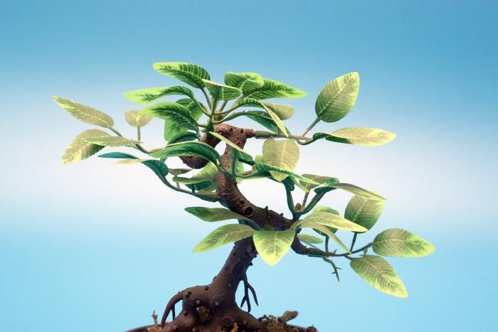 Sticker arbre artificiel en plastique pixers nous for Arbres en plastique artificiels