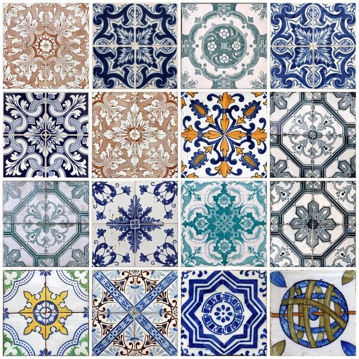 Fotomural azulejos de lisboa pixers vivimos para cambiar - Cambiar azulejos ...