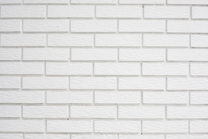 white brick Wall Mural Pixers We live to change