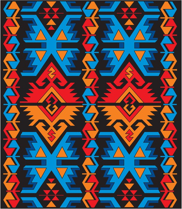 papier peint ornements ethnique bulgare pixers nous vivons pour changer. Black Bedroom Furniture Sets. Home Design Ideas
