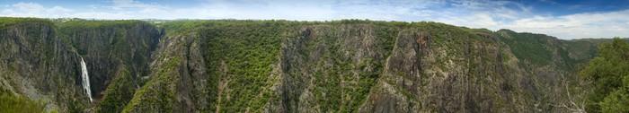 Vinylová Tapeta Wollomombi Falls Panorama - Příroda a divočina