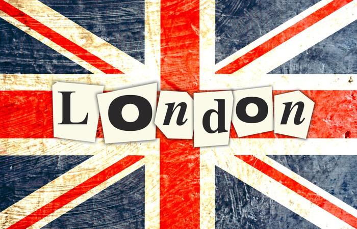 Papier peint drapeau anglais londres pixers nous - Papier peint londres ...