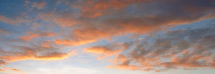 Vinylová Tapeta Ciel crepusculaire - Nebe