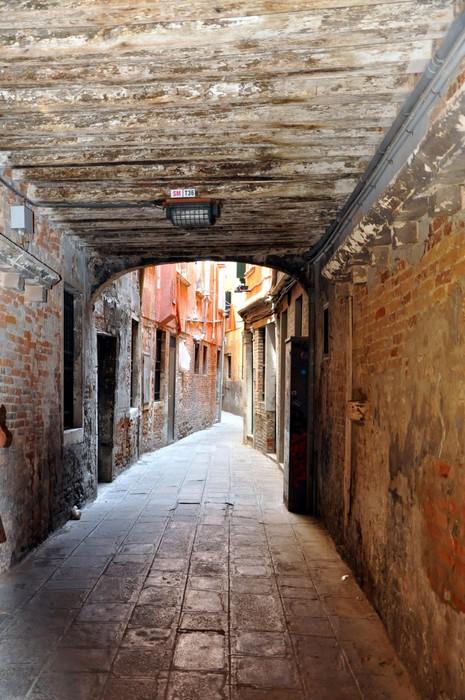 Vinylová Tapeta Alte Gassen in Venedig - Evropská města