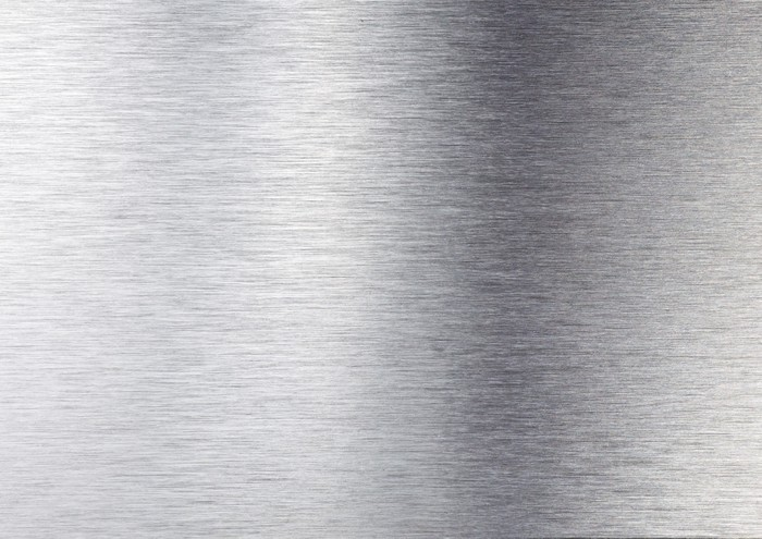 Carta da parati metal texture argento pixers viviamo for Carta parati argento