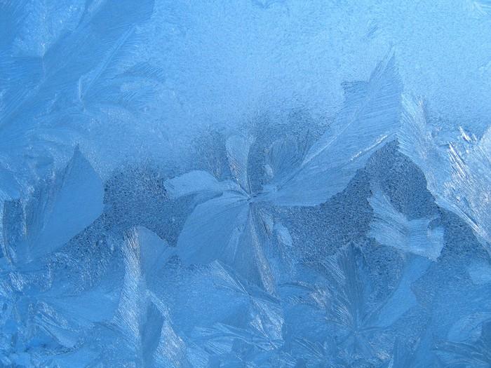 Vinylová Tapeta Frost textury - Roční období