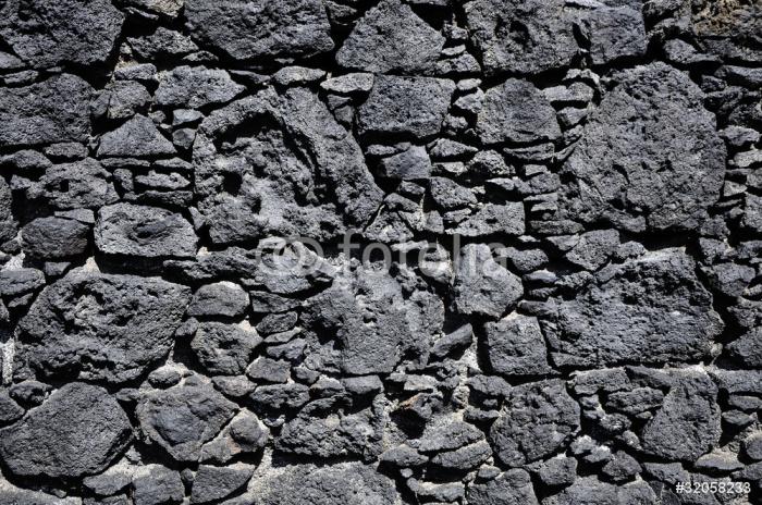 Fotomural pared de piedra volc nica pixers vivimos for Piedra volcanica