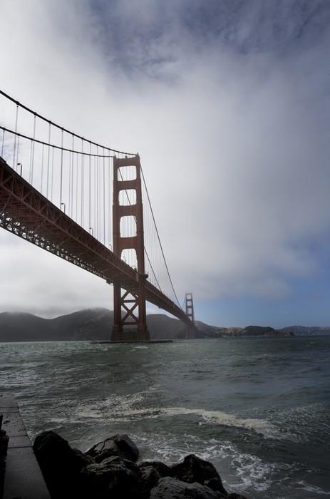 Vinylová Tapeta Golden gate bridge - Infrastruktura