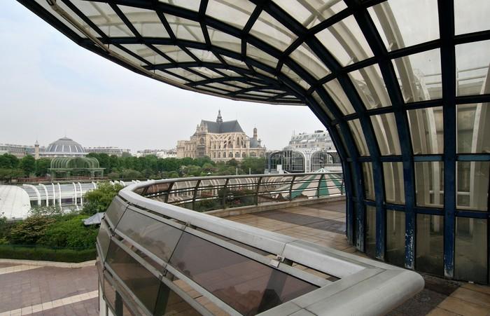 Vinylová Tapeta Les Halles v Paříži - Evropská města