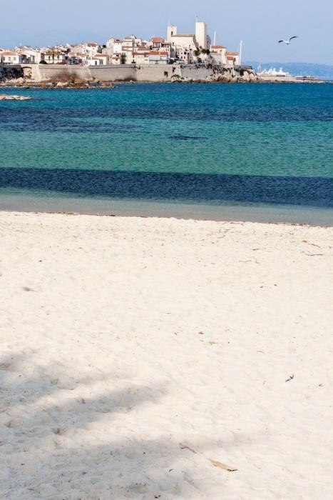 Vinylová Tapeta Tropická pláž s palmami stínu - Evropa
