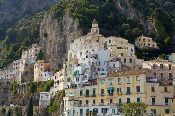 Vinylová Tapeta Amalfi, Itálie - Evropa