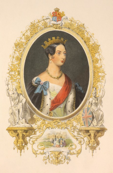 Vinylová Tapeta Queen Victoria - Criteo