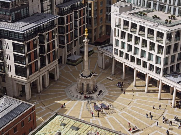 Vinylová Tapeta Paternoster Square, Londýn, Velká Británie - Evropská města