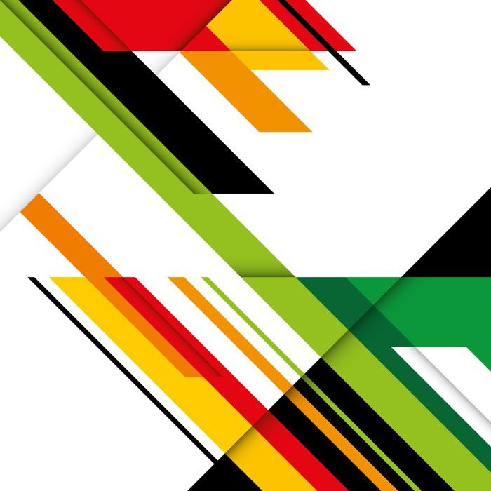 Vinylová Tapeta Barevné pozadí s navržený elegantní abstrakce. - Styly