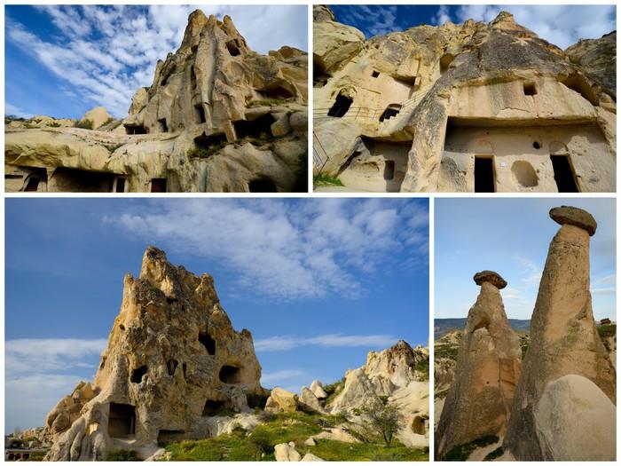 Vinylová Tapeta Maisons de Cappadoce - Střední Východ
