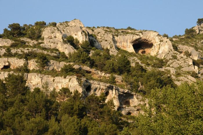 Vinylová Tapeta Paysage à Fontaine de Vaucluse-en-Provence - Prázdniny