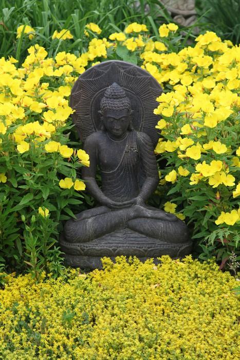 Vinylová Tapeta Zahrada Buddha - Náboženství
