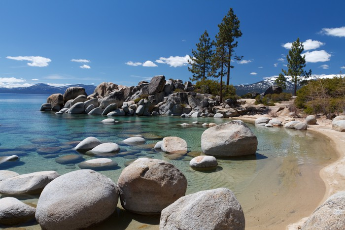 Vinylová Tapeta Sand Harbor, Lake Tahoe - Amerika