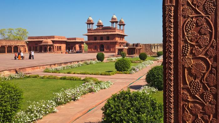 Vinylová Tapeta Fatehpur Sikri světového dědictví UNESCO - Asie