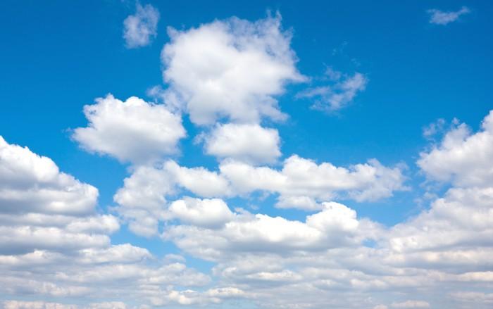 Vinylová Tapeta Zatažené obloze - Nebe
