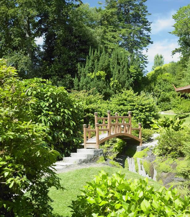 Japanese Garden, Powerscourt Gardens, County Wicklow, Ireland Wall ...