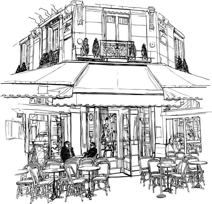 old cafe in Paris