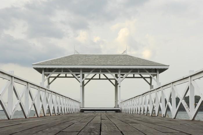Vinylová Tapeta Asadang most v Sichang Island, Thajsko - Nebe