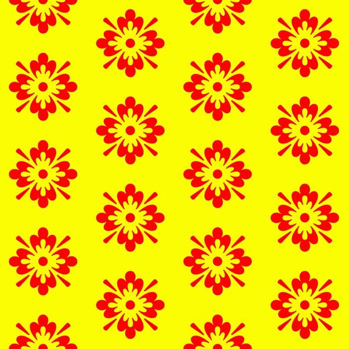 Nálepka Pixerstick Textura červená žlutá - Pozadí