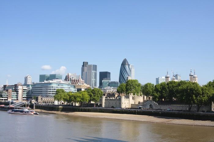 Vinylová Tapeta Panorama londyn - Evropská města