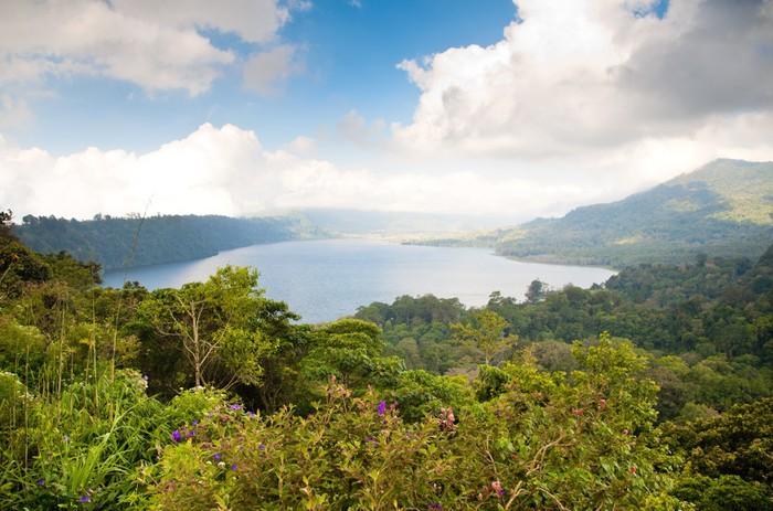 Vinylová Tapeta Buyan Lake - Asie