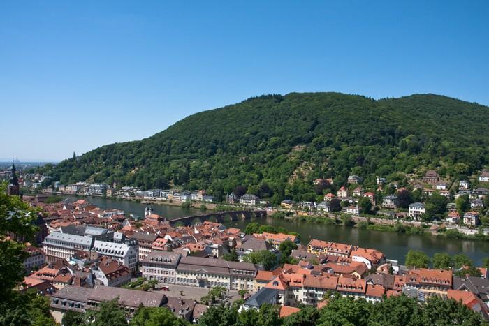 Vinylová Tapeta Heidelberg, Německo - Evropa