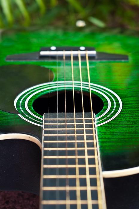papier peint guitare acoustique pixers nous vivons. Black Bedroom Furniture Sets. Home Design Ideas