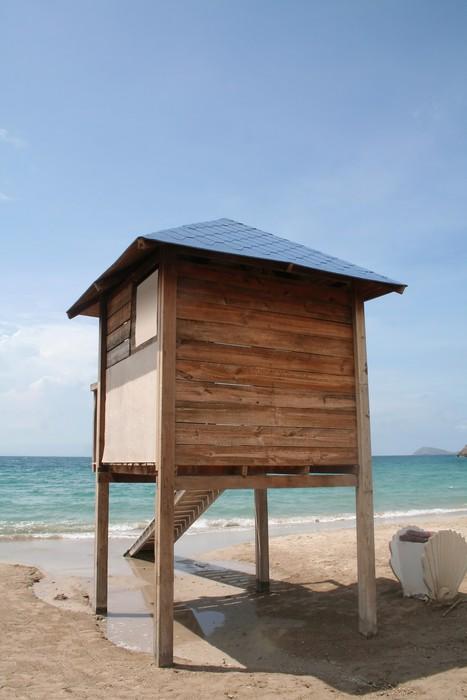 Vinylová Tapeta Lifeguard Station - Vodní sporty