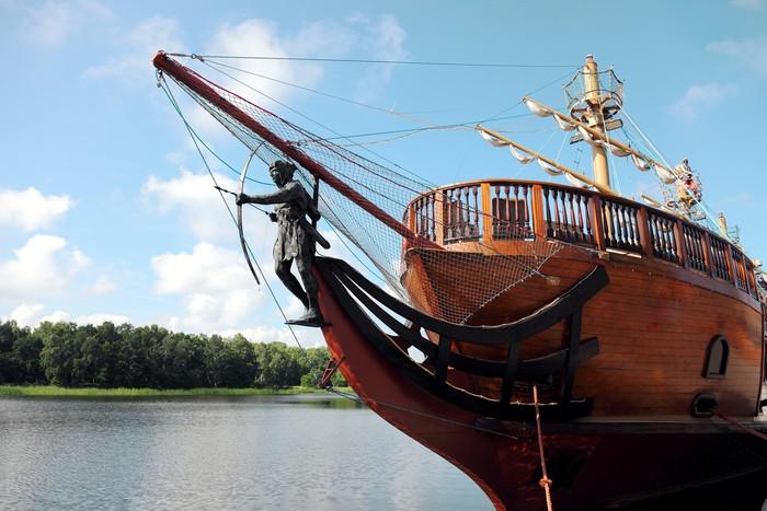 Papier peint voile bateau pirate pixers nous vivons - Voile bateau pirate ...
