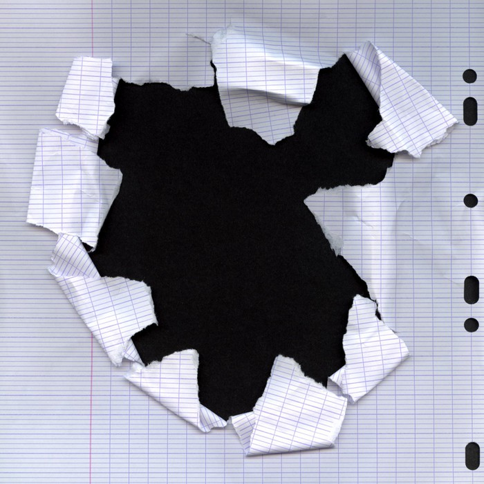 Vinylová Tapeta Potrhaný papír - Struktury